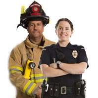 firefighter-policemen