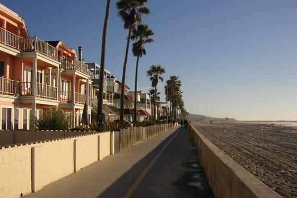 San Diego coastal homes