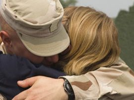 military household embracing