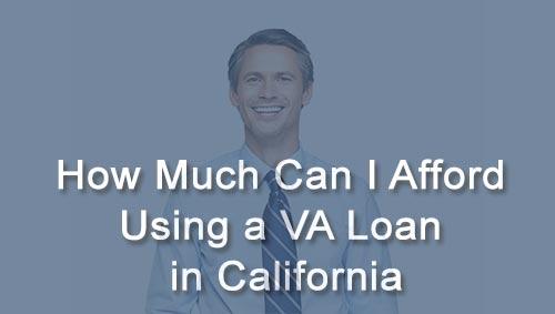 VA home loans California